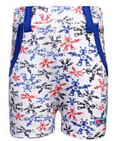 Kid Studio - Robot Print Shorts