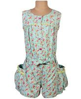 SAPS - Sleeveless Floral Printed Jumper Suit