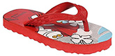 Bata - Red Rubber Flip Flop