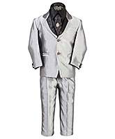 SAPS - Party Wear Suit With Contrast Shirt