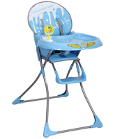 Fab N Funky - Baby High Chair With Baby Bao Print