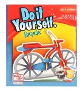 United Toys Do It Yourself - Bicycle 4 Years+, Assemble And Color It