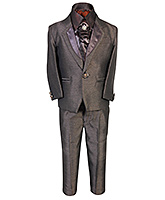 SAPS - 3 Piece Party Suit With Satin Shirt