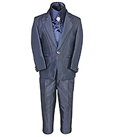 SAPS - Party Suit With Satin Shirt