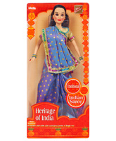 Miss Beautiful - Heritage Of India Dark cyan