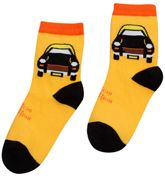 Mustang - Car Print Boys Socks