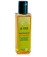 Avera Orange Body Massage Oil