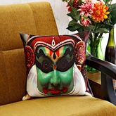 Aawrun Digital Print Design Cushion Cover - 78