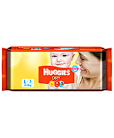Baby Diapers - Huggies Dry Diapers Large - 5 Pieces
