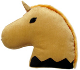 Tickles - Soft Stuffed Cushion Horse