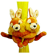 Tickles - Rabbit Pair Curtain Hanger