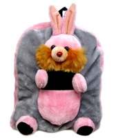 Pink Rabbit Shoulder Bag 3 Years+, Cute Bunny Bag For Your Little One