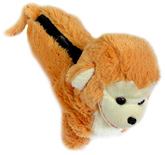 Tickles - Monkey Shaped Pencil Pouch