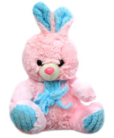 Tickles - Pink And Blue Bunny