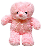 Tickles - Pink Standing Teddy
