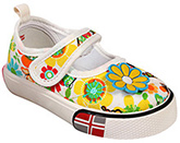 Doink - Canvas Shoes With Floral Print