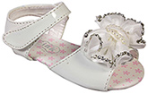 Doink - Party Sandal With Flower Applique And Pearls