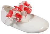 Doink - Shoes With Flower Applique And Pearls