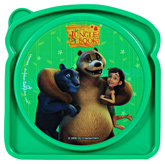 Jungle Book - Sandwich Lunch Box Green