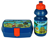 Angry Bird - Lunch Box And Water Bottle Set Blue