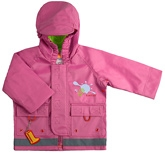 Kushies Baby - Bubblegum Pink Rain Jacket