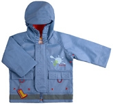 Kushies Baby - Blue Rain Jacket