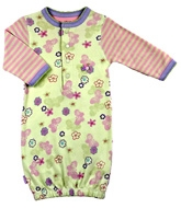 Kushies Baby - Full Sleeves Pink Girls Gown