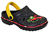 Cute Walk - Clog With Colourful Piping