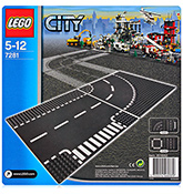 Lego - T Junction & Curves