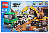 Lego - Excavator Transport Vehicle