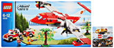 Lego  - Fire Plane Red