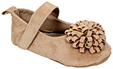 Carter - Booties With Flower Applique