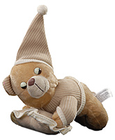 Sleeping Bear Soft Toy 23 Cms, 0 - 2 Years, Cute And Cuddly Soft Toy For Yo...