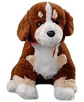 Sitting Dog Soft Toy Soft And Cuddly Toy For Your Kid