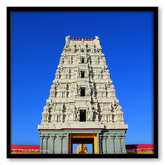 Chaukhat Premium Photo Painting of The Balaji Temple of Pune - GL010