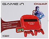 Red Game In Champ 12.7 x 9 x 2.2 Inches, Supports 8 bit game cartridge...