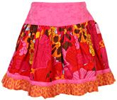 Ladybird - Flower Print Skirt With Frill