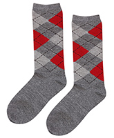 Cute Walk - Checks Print Socks