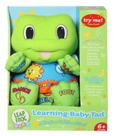 Leap Frog - Learning Baby Tad 6 Months+, Try me! Press clap! Then dream away... 10...