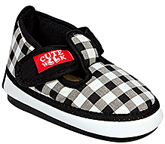 Cute Walk - Checks Print Booties
