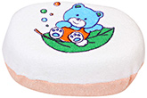 Fab N Funky - Bear And Leaf Print Bath Sponge