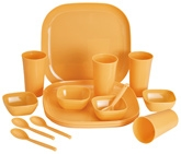 Prime Microwave Square Dinner Set 3335