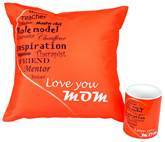 meSleep Combo of Cushion Cover and Coffee Mug MC Arc