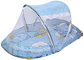 Fab N Funky - Musical Mosquito Net Bedding Set Bear Print