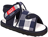 Cute Walk - Blue Checks Sandals