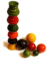 Aatike - Ball Balancer Wooden Game