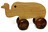 Aatike - Moving Wooden Elephant Toy