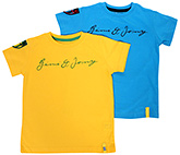 Gini & Jony - Half Sleeves With Applique 2 Tshirts