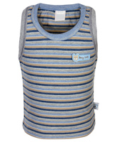 Toffy House - Stripes Print Sleeveless T Shirt