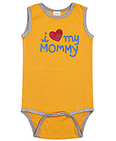 Baby Hug - Sleeveless Onesies With Heart